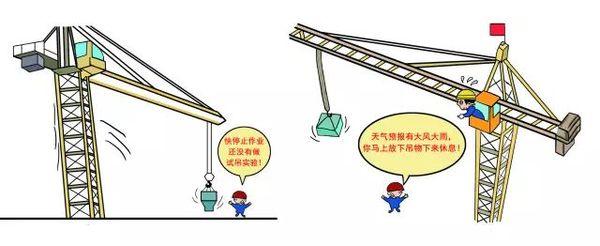塔吊安全装置图解_建筑施工安全规范图解-- 海南建筑工程有限公司